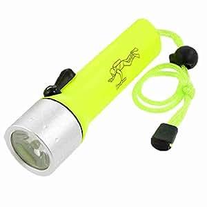 gelb gr n etui 180lm wei e led licht batteriebetriebene tauchen taschenlampe baumarkt. Black Bedroom Furniture Sets. Home Design Ideas