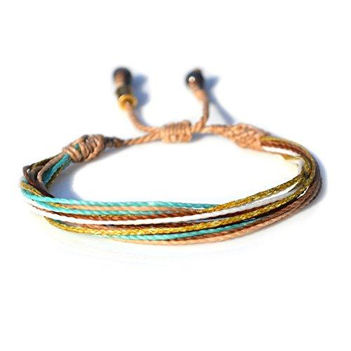 unisex-adjustable-multistrand-string-surf-bracelet-with-hematite-stones-in-tan-aqua-white-rust-and-m