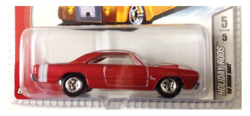 Hot Wheels 2006 Holiday Rods Limited Edition / Red '68 Dodge Dart Die Cast Collectible / #5 Of 5