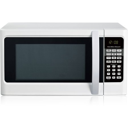 Hamilton Beach 1.1 cu ft Digital White Microwave Oven, Convenience Cooking Controls (Convenience Oven compare prices)