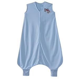 HALO Big Kids SleepSack Lightweight Knit Wearable Blanket, Blue, 2-3T