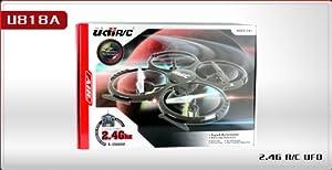 UDI U818A - RC UFO mit Camera, 3D Quadrocopter - Drohne, 2.4 GHz