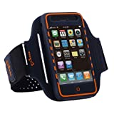 Sports Armband Case & Screenguard for iPhone 3GS/3G by Bone - Blueby Bone
