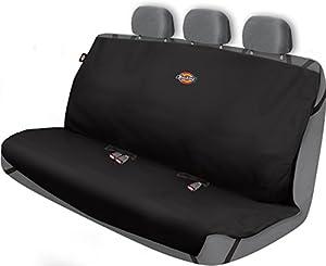 Dickies 3000721 Black Heavy Duty Rear Bench Seat Protector