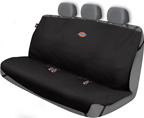 Dickies 3000721 Black Heavy Duty Rear Bench Seat Protector (Rear Seat Covers compare prices)