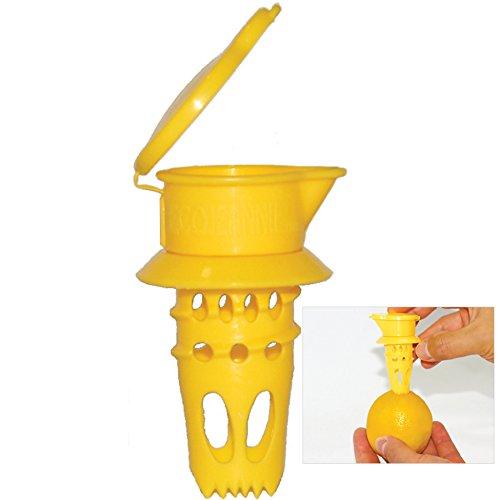 EcoJeannie Citrus Tap, Lemon Juicer Faucet (Patent Pending), Lime Squeezer, Juice Extractor (Lemon Faucet compare prices)