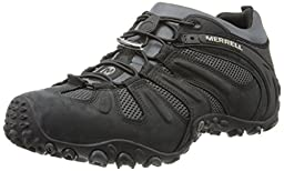 Merrell Men\'s Chameleon Prime Stretch Hiking Shoe,Black,11.5 M US