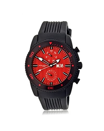Mos Men's MOSTK103 Tokyo Black/Black Silicone Watch