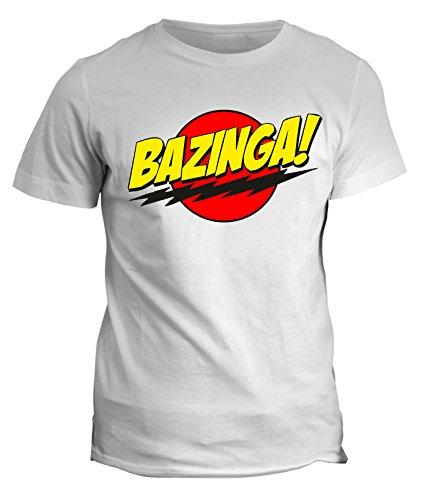 Tshirt bazinga - the big bang theory - sheldon cooper maglietta - tbbt - in cotone by Fashwork
