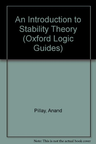 An Introduction to Stability Theory (Oxford Logic Guides)