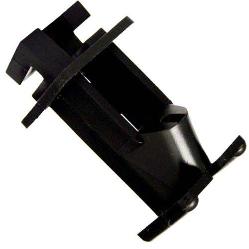Zareba Iwnb-Z Slant Nail Insulator, Black, 25 Per Bag