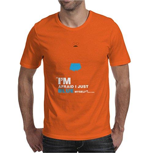 Tobias Funke Mens T-Shirt Orange / Large