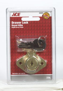 Ace Trading Bhdw 4 01-3112-215 Drawer Lock - 1