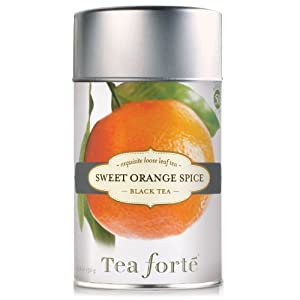 Tea Forte Loose Tea Canister - Sweet Orange Spice