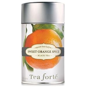 Tea Forte Organic Black Tea SWEET ORANGE SPICE from Tea Forte