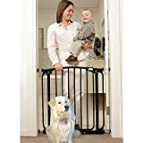 Dreambaby Swing-Close Safety Gate Black FREE DELIVERY