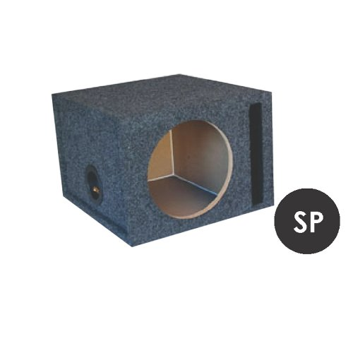 "Audiotek 15"" Speaker Boxes Single Port Mdf Fits Cvr, Cvt, Cvx, Comp 15, P3, P2, P1, R1, R2, Mtx, Infiniti, Sony, Jl, Jbl, Alpine, Pioneer, Kenwood, Kicker Subwoofers! At-15Sp"