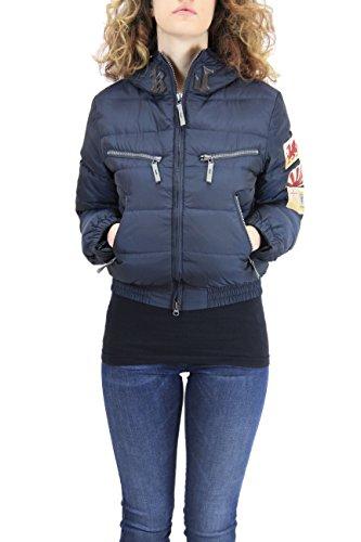 Kejo Ninja Flag L.E. Women Goose Down Jacket Black (S, nero)