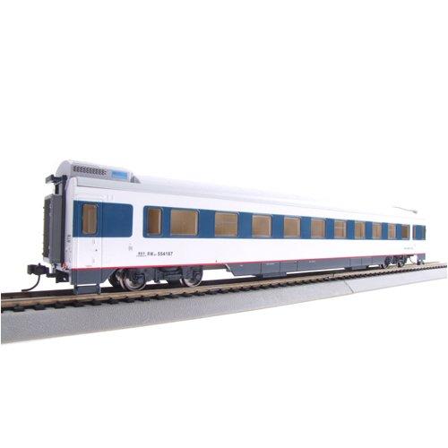 百万城 火车模型 25T准高速客车软卧车厢 554388 上局合段 浦 长客厂