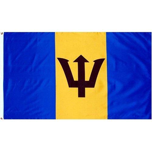 Barbados national flag