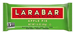 LÄRABAR Fruit & Nut Food Bar, Apple Pie, Gluten Free 1.6 oz , 5 Count