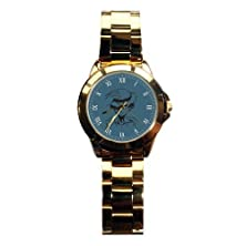 buy G-Store Women'S Custom Design Csdw1216895 Monkey D Luffy Gold Stainless-Steel Quartz Watch With Gold Dial