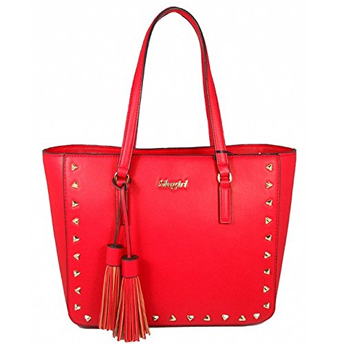 BORSA BLUGIRL SHOPPING RED 006