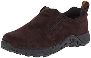 Merrell Jungle Moc Sport Slip On Shoe (Little Kid/Big Kid), Brown/Black, 1.5 W US Little Kid