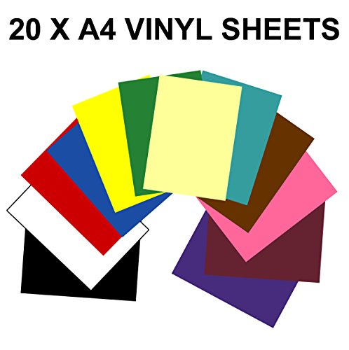 a4-vinyl-self-adhesive-sheets-x-20-sticky-back-plastic-10-colours-10-black-white-use-with-silhoutte-