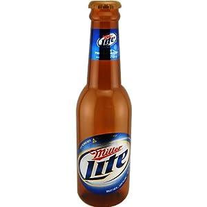 Amazon Com Miller Lite Super Sized Bottle Bank Bar