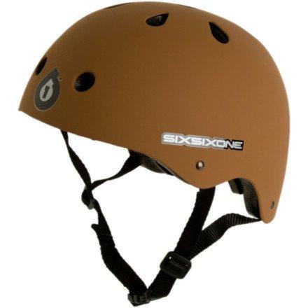 Six Six One Dirtlid Helmet Light Gray/Purple, One Size