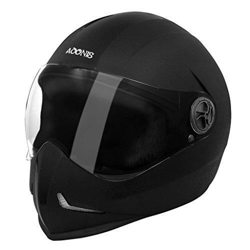 Steelbird Adonis Classic Full Face Helmet (Black, L)