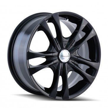Sacchi S2 16 Black Wheel / Rim 4x100 & 4x4.5 with a 40mm Offset and a 67.1 Hub Bore. Partnumber 220-6701B (Rims For A Honda Civic 2001 compare prices)