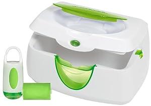 Munchkin Warm Glow Wipe Warmer and Diaper Bag Dispenser Set (Colors may vary)