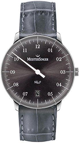 MeisterSinger Neo NE907 Reloj automático con sólo una aguja Diseño Clásico