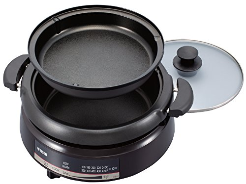 Tiger Corporation Cqe-A11U T Electric Grill Pan With 2-Way Style Pans