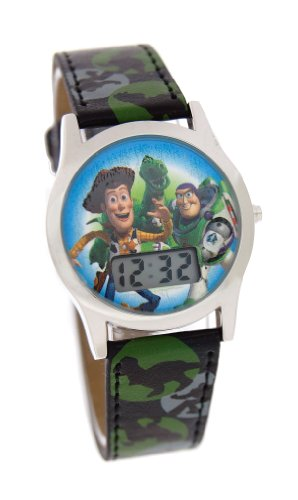 Disney Toy Story Digital Wach With Black Band Model # 41631