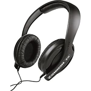 $19.95 Sennheiser HD 202 II Professional Headphones (Black)