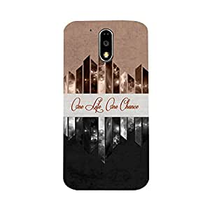 Phone Candy Designer Back Cover with direct 3D sublimation printing for Moto G4 Plus
