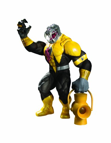 DC Direct Blackest Night: Series 7: Sinestro Corps Member Arkillo Action Figure (Red Lantern Mera compare prices)