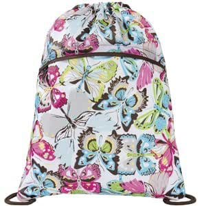 Amazon.com: Thirty One 31 Cinch Sac Flutter Brand New Sealed Butterfly