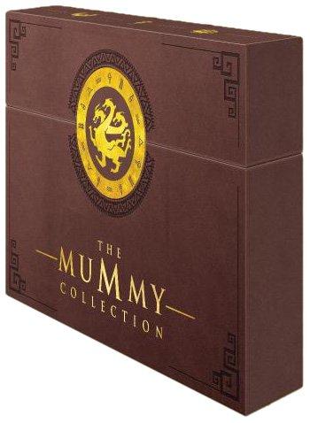 Die Mumie + Die Mumie kehrt zurück + Die Mumie: Das Grabmal des Drachenkaisers ( 2er DVDs) + Scorpion King + Scorpion King: Aufstieg eines Kriegers (Singel-DVDs) + Brettspiel