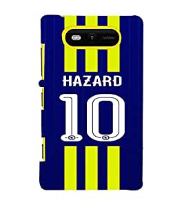 PRINTVISA Football Hazard Case Cover for Nokia Lumia 820