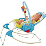 Dazzling Fisher-Price Smart Stages 3-in-1 Swing n Rocker Baby Swing with accompanying Set of 10 KiddiSafe Door Stoppers