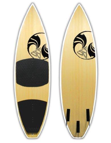 Tabla Aloha De Surf De Bambu' Ksp Talla 6'1'' Para Kitesurf Surf Wave