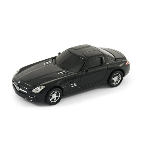 Mercedes Benz SLS Car USB Memory Stick 4Gb - Silver