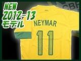 ◆大人用サッカーユニフォーム 2012-2013モデル◆ブラジル代表 HOME #11 ネイマール hqh-263