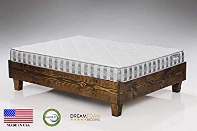 Ultimate Dreams Crazy Quilt 7 inch TriZone Mattress from Dreamfoam Bedding
