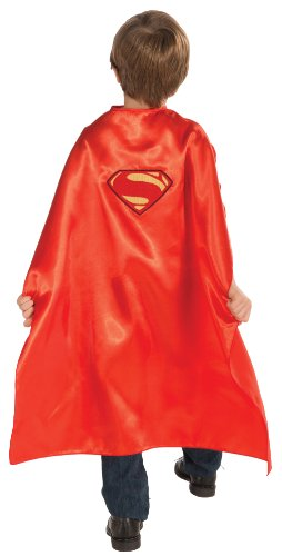 "Rubies DC Superheroes Collection Superman 29"" Child Cape with Logo"