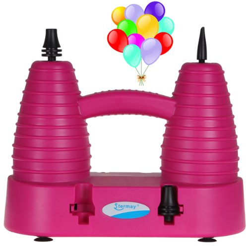Origlam® Electric Household Balloon Inflator Electric Balloon Pump With Two Nozzles For Regular And Magic Balloons